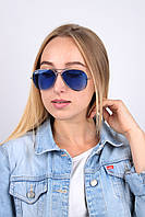 Очки имиджевые авиатор R3025 синие