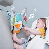 Развивающий центр для автомобиля Taf Toys Музыкальный пингвин (12285) , фото 2