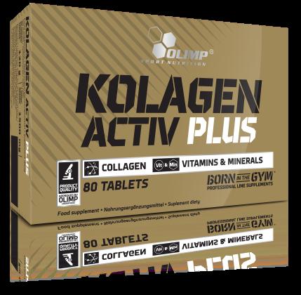 Для суставов и связок Olimp Kolagen Activ 80 таблеток, фото 2