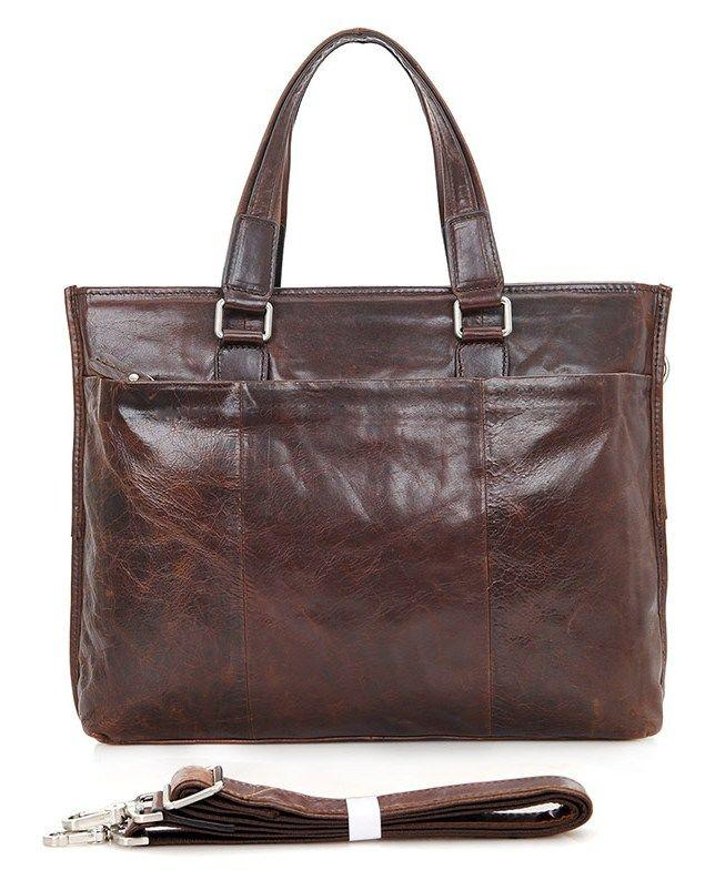 59f8c85daae2 Коричневая мужская сумка кожаная городская Vintage 14399 - Цена ...