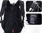 Рюкзак Swissgear 8810 Швейцарский +USB+Дождевик+PowerBank в Подарок, фото 2