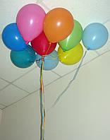 Гелиевые воздушные шары Разные цвета