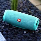 Портативная Bluetooth колонка JBL Charge 3 GREEN Бирюза Джибиэль КАЧЕСТВО + Подарок!, фото 5