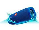 JBL Charge 3 Blue (Синий) Портативная Блютуз Колонка КАЧЕСТВО + Наушники EarPods в Подарок!, фото 3