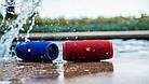 JBL Charge 3 Blue (Синий) Портативная Блютуз Колонка КАЧЕСТВО + Наушники EarPods в Подарок!, фото 6