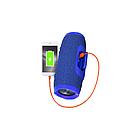 JBL Charge 3 Blue (Синий) Портативная Блютуз Колонка КАЧЕСТВО + Наушники EarPods в Подарок!, фото 9