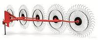 Граблі ворошилка  3,8м (5 коліс)