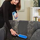 Щетка для уборки шерсти домашних животных FUR WIZARD + Перчатка True Touch в Подарок! Самоочистка, фото 7