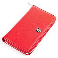 Кошелек женский KARYA 17004 кожаный Красный, Красный