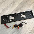 Рамка с камерой заднего вида для номерного знака автомобиля + Подарок, фото 2