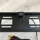 Рамка с камерой заднего вида для номерного знака автомобиля + Подарок, фото 4