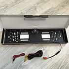 Рамка с камерой заднего вида для номерного знака автомобиля + Подарок, фото 5