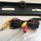 Рамка с камерой заднего вида для номерного знака автомобиля + Подарок, фото 7