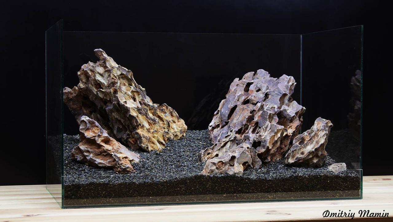 Композиция для аквариума от 70л из Дракона