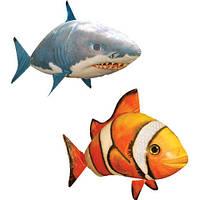 Игрушка летающая рыба на радиоуправлении Акула Air Swimmers рыба-клоун, акула