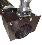 Универсальный вытяжной дымосос для котлов и каминов ДБУ FCJ4C52S Atas Ø-160 (диаметр дымохода 160мм), фото 2