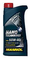 Моторное масло Mannol Nano Technology 10W40 1L