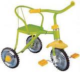 Велосипед LH-701M-B  (Синий), хром, клаксон, 6 цветов, красный, зелений, голубой, синий, розовый, фото 2