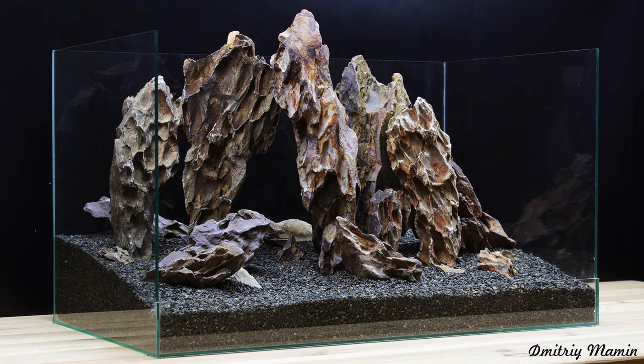 Композиция для аквариума от 60л из Дракона