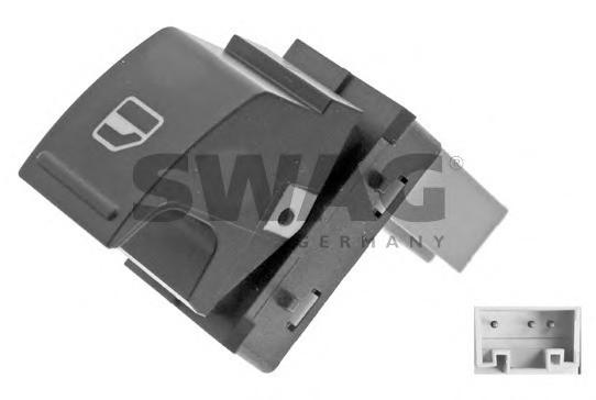 Кнопка стеклопод. VW Caddy 3/Golf 5/B-6/Touran сторона пасажира 7L6959855B REH