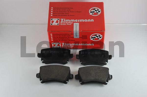 Колодки зад. Audi A4/A6 (05>) VW Caddy 3/B-6/B-7/Golf 5/Touran/Tiguan 23914.170.1