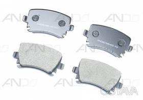 Колодки зад. Audi A4/A6 (05>) VW Caddy 3/B-6/B-7/Golf 5/Touran/Tiguan RD.23914STD