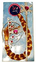 Аксессуары для девочек FROZEN Фрозен (диадема, коса), на планшете, арт. CLG17085
