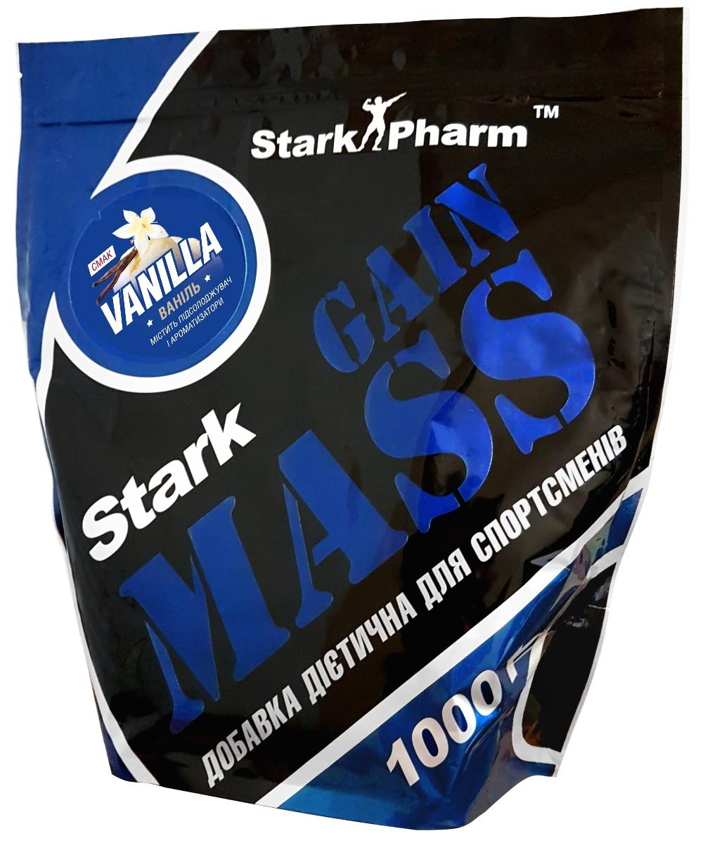 Гейнер Stark Gain MASS - Stark Pharm (1000 г) ваниль