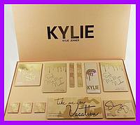 Подарочный набор косметики KYLIE Jenner (тени, хайлайтеры, пигменты, матовые помады)