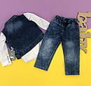 Джинсовый комплект 3-ка для мальчика 2-3-4-5 лет, фото 4