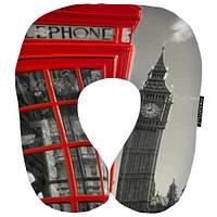 Подушка-рогалик Лондон