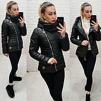 Демісезонна куртка 2019 ,арт. 501, колір чорний, фото 1