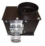 Універсальний витяжний димосос для твердопаливного котла ДПУ FCJ4C82S Atas Ø-150 (діаметр димохода 150мм), фото 3