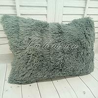 Чехол для подушки травка  50х70 см., цвет серый