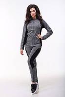 Женский спортивный костюм для фитнеса лосины + кофта  L(46-48), фото 1