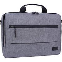 Украина Сумка для ноутбука Bagland Континет 7 л. серый (0044069), фото 1