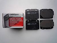 Колодки тормозные ВАЗ 2101-2107 передние (к-т) (пр-во Lada Sport)