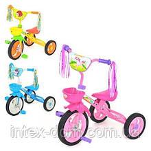 Дитячий триколісний велосипед M 1657B (Блакитний)