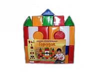 Детские кубики конструктор Городок Л-001-2 20 дет.