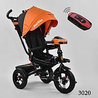 Трехколесный велосипед с поворотным сидением с пультом Best Trike 6088 цвет 3020