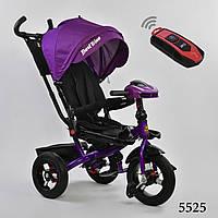 Трехколесный велосипед с поворотным сидением с пультом Best Trike 6088 цвет 5525