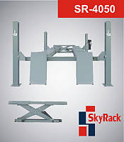 Подъемник автомобильный четырехстоечный 5 т SkyRack