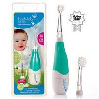 Электрическая зубная щетка BabySonic от 0 до 3 лет (звуковая), фото 1