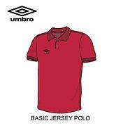 Поло UMBRO BASIC JERSEY POLO