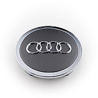 Колпак колёс. Audi A4/A6/A8 d=57 хром copy