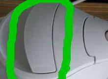 Ручка крышки для чайника Philips HD4646/00 996510074233