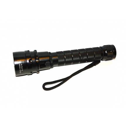 LED-фонарь подводный BL-8782, яркий, с диодом Cree T6, работает от аккумуляторов, в комплекте з/у 220В/12В, фото 2