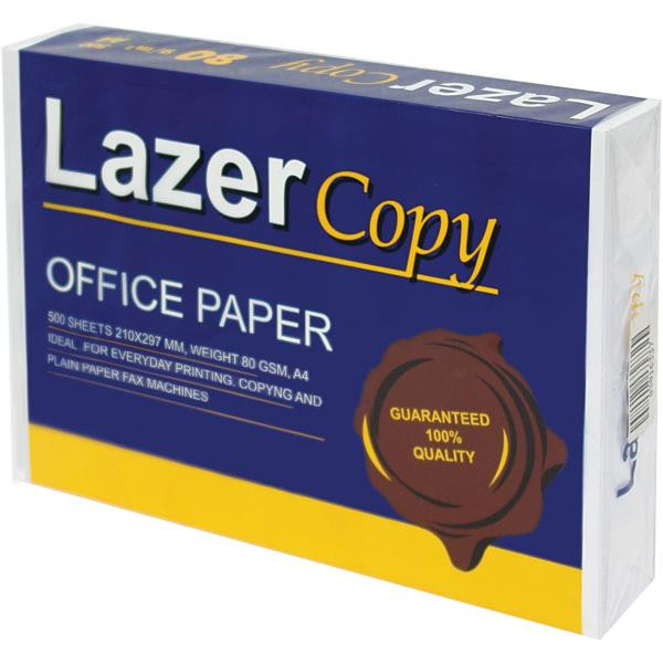 Бумага А4 Lazer Copy 80г/м кв, 500л.