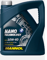 Моторное масло Mannol Nano Technology 10W40 5L