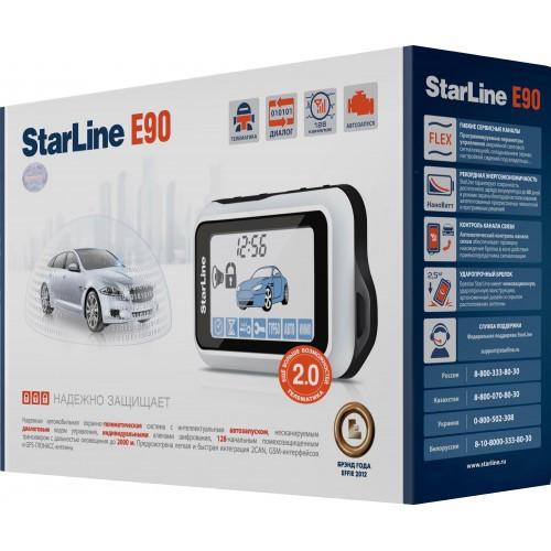 Автомобильная сигнализация Starline Е90 GSM (опция 2CAN 2 SLAVE) T 2.0